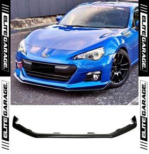 Front Bumper Lip Splitter Spoiler Fits: Subaru BRZ (2012-2016) PU STI Style