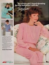 1987 JACLYN SMITH for Kmart   FASHION Magazine  PRINT AD  *