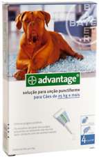 Bayer Advantage antiparasitaire Flea Chiens Dogs x 4 pipettes 400 - de 25 kg