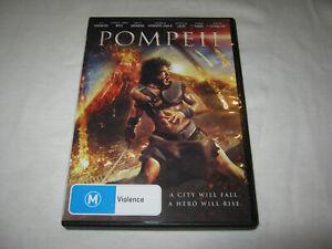 Pompeii - Kit Harington - VGC - DVD - R4