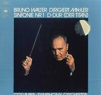 Bruno Walter, Mahler, Columbia Symphony Orchestra ‎– Sinfonie Nr.1 D-Dur