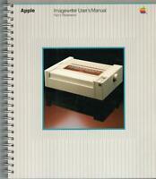 ITHistory (1984) Manual: APPLE ImageWriter Printer Part 1 Reference (030-0730-B