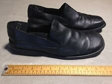 GBX XTREME Men's Leather Slip On Square Toe Loafer Shoes US 11M Black