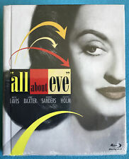 All About Eve (Blu-ray Disc, 2011, 60th Anniversary) Digibook Oop (Se)