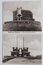 29370 AK Gruß aus Massow Helden-Denkmal 1927 bei Röbel-Müritz