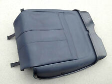 Range Rover L322 Genuine front left seat rear cover leather (NAVY/PARCHMENT)
