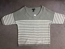 GAP Women's Striped Thin Knit Jumpers & Cardigans