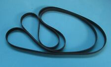 2 x Belt Set for the Sharp VZ-3000 Turntable Door Belt & Main Drive Belt  New