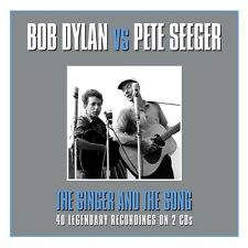 Bob Dylan Vs. Pete Seeger - The Singer And The Song (2CD) NEW/SEALED