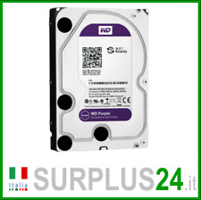"Hard Disk WESTERN DIGITAL WD10PURX WD PURPLE 1 TB SATA 3.5"" interno con GARANZIA"
