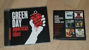 GREEN DAY American Idiot GREENDAY BLINK 182 LINKIN PARK RED HOT CHILI PEPPERS
