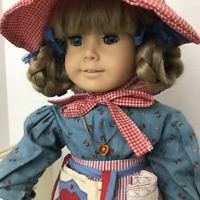 AMERICAN GIRL Kirsten Doll White Body Meet Outfit Pleasant Company Old Box 1986
