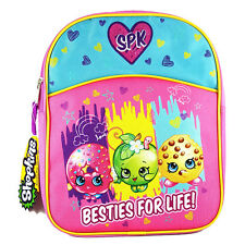 "Shopkins Backpack 11"" Half Moon Piping Mini School Bag Girls Kids KNCM01ZA"