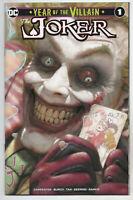 Joker Year Of The Villain 1 DC 2019 NM- Ryan Brown Variant Batman John Carpenter