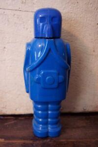 vintage blue storm trooper spaceman robot pez austria