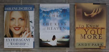 Darlene Zschech Kiss of Heaven Extravagant Worship Know You Shout LOT of 4 HC
