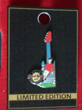 HRC Hard Rock Cafe Manchester Milestone Series No7 Soccer Manu Red LE200
