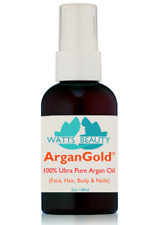 NEW Watts Beauty ULTRA 100% Pure Argan Oil for Face Moisturizer & Healthy Hair