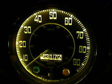 LAND ROVER SERIE 3 BIANCO CALDO CRUSCOTTO LAMPADINE 8x LED BA7S E10 RACCORDO