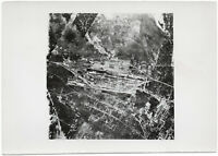 Briansk nach einem Bombenangriff. Orig-Pressephoto von 1941