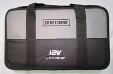 CRAFTSMAN NEXTEC 12V 12 VOLT LITIUM ION LARGE TOOL CASE, FITS MOST NEXTEC - NEW!