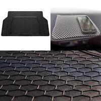 Universal Cargo Trunk Liner Mat for Auto Car SUV Van Black w/ Gray Dash Mat