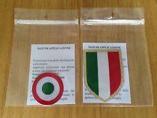 2015-18 JUVENTUS Scudetto & Coppa Italia OFFICIAL STILSCREEN Badge Patch Set