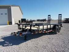 2020 Load Trail  83x18' Equipment Trailer PipeTop 14K LB