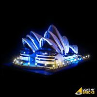 LIGHT MY BRICKS - LED Light kit for LEGO Sydney Opera House 10234 LEGO Light Kit