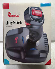 JOYSTICK CONTROLLER GENIUS J08 IBM PC for Video Games Vintage Boxed