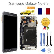 VITRE TACTILE + ECRAN LCD SAMSUNG GALAXY NOTE 3 N9005 NOIR + OUTILS FR