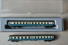 More details for marklin mini club z  db x2 type bym 421 commuter cars (1) 2nd (1) 1st & 2nd)