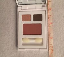 Elizabeth Arden 2 Eye Shadows Sunset & Chocolate + Blush Tearose Combo