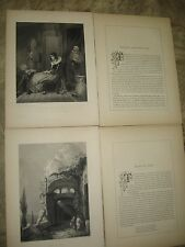 2-1853 Photogravures Engravings : Wilson-Ruins in Italy/ G. Clint- Falstaff Page
