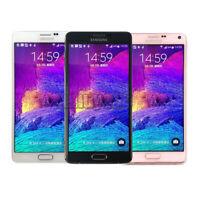 "SAMSUNG Galaxy Note IV 4 SM-N910F 4G LTE 32GB Factory Unlocked Smartphone 5.7"""
