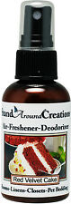 Premium Concentrated Air Freshener- 2oz- Scent: Red Velvet Cake- Room Deodorizer