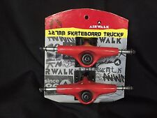 Airwalk 127Mm Skateboard Trucks Set of 2 Trucks Red - New Reduced - Save