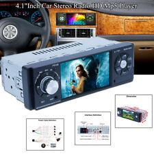 "4.1""1Din LCD Universal Car Stereo Radio HD MP5 Player Bluetooth FM Video USB AUX"