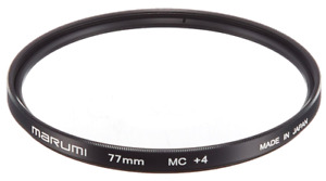 MARUMI Camera Filter Close-up Lens MC + 4 77mm For Close-up Shooting