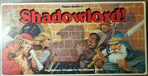UNIVERSAL MONSTERS-SHADOWLORD-PARKER BROTHERS-ULTIMATE STUGGLE-FANTASY-COMPLETE