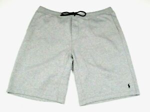 BIG GUYS Polo Ralph Lauren Gray Cotton Essential Drawstring Sweat shorts sz 2XB