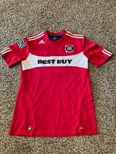 ADIDAS MLS Chicago Fire Best Buy Climacool Jersey Size L - game worn