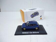 1/43 Norev/   Renault CLIO WILLIAMS DEALER DIECAST MODELLE   NM BOX