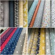 Designer 100% Cotton Fabric for Curtain Cushions Blinds Upholstery 140cm wide