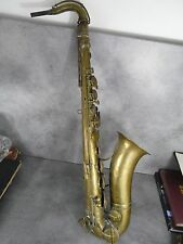 Rare Saxophone tenor type Sax Muller Cousin à Lyon vers 1870 pour musée