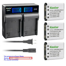 Kastar Battery LCD Rapid Charger for Fuj NP45 45A 45B 45S Fujifilm FinePix JV200