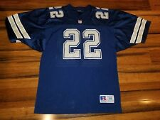 487ed8e13 Dallas Cowboys Emmitt Smith #22 Vintage 90s Russell NFL Football Jersey  Men's 48