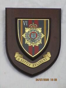 Regiments Wappen: 6 Supply Regiment, Royal Logistic Corps, RLC