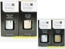 CND Shellac Gel UV Soak-Off Small Base Top Coat 0.25fl.oz / Large Base Top Coat