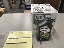 6 Quarts of 5W20 Mobil Super Synthetic Motor Oil